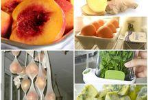 Mat-spare-tips, food-economy / Tips om hvordan man skal slippe å kaste mat, What to do if You dont want to throw away food. / by Grethe Johansen