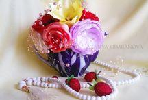 Интерьерные композиции / Здесь представлены мои работы. Вы можете заказать у меня эти интерьерные композиции. Либо из цветов ручной работы, либо из текстильных.  #интерьерные #композиции #interior #composition #цветы #flowers #подарок #present #текстиль #букет #роза #пион #лилия #мак #bouquet #lily #rose #peony #poppy
