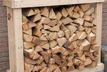 Garten - Holzunterstand