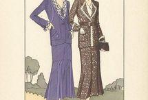 1930s fashion plates
