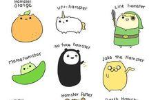 Hamster og dyr