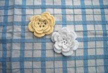 crochet flowers  / by Annemarie H.