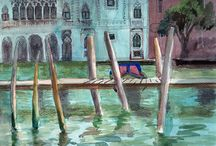 Watercolors from Venice