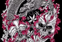 Skulls and skeletons - Koponyák és csontvázak