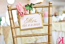 Mr. & Mrs. Wedding Chairs! / by Palafox Wharf Waterfront Reception Venue
