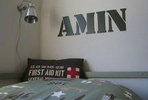 thuis met Moon * army look