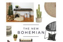 Interior design - Bohém