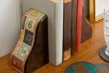 Table and shelf decor / by Sara Stokes