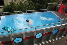 container pool