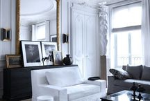 Parisian-Inspired Interiors / Make any room look classy and French