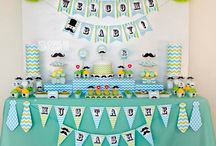 Mustache Themed Party Ideas