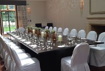 Foxhill Manor / Chair covers and sashes for weddings and events