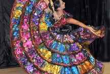"Baile Folklórico / ""folkloric dance"" in Spanish - traditional Latin American dances that emphasize local folk culture with ballet."