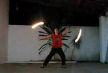 Fire Poi Vids / Vids of amazing fire poi spinning