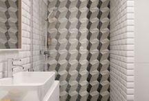 Mała łazienka z prysznicem - INSPIRACJE