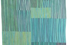 Modern quilts - water colors