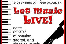 Let Music Live! Community Music Recital / Join us for an afternoon of fun, followed by cookies. Local Georgetown artists present a feast of music from all genres, ranging from classical to sacred to whimsical as San Gabriel Presbyterian opens its doors to the joys of playing and singing in our own community music recital.   Free and open to the public!  Do you have a studio or are you a local artist? Consider joining us! P/M this page with your interest and information.