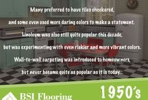 Flooring through decades