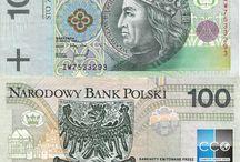 Billets Pologne / La monnaie officielle s'appelle le Złoty, ce qui, en polonais, signifie « en or ». En effet, la monnaie polonaise avait jadis son équivalent en or.  Les billets de banque Pologne en circulation sont : 10, 20, 50, 100 et 200 PLN.