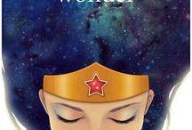 Diana Prince, the amazing Amazon / Wonder Woman + a bit of DC