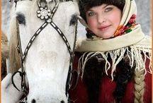馬と女の子