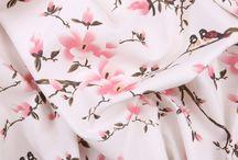Fabric - Cherry blossoms
