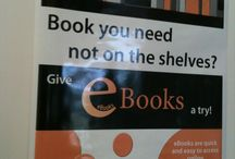 E-library / Promoting ebooks and emagazines