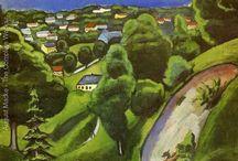 August Macke /  German  artist (1887-1914)