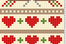 Fair Isle patterns and borders