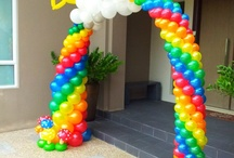 Balloons of Baldock Likes - Balloon arches & columns / Balloon Arches & Columns ideal when you want to make a BIG impact.  These are not my designs, however please take a look as this board as it is full of ideas & designs to get your imagination going.