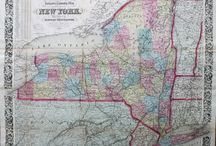 New York State Maps and Prints