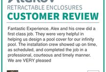 Testimonials And Reviews / Pool Enclosures And Patio Enclosures  Testimonials And Reviews   Retractable Patio Enclosures