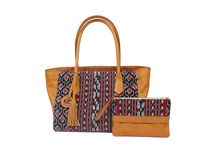 Bali Leather Woven Bag