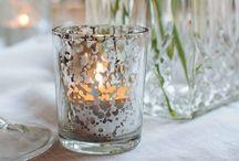   Silver Wedding Decorations  