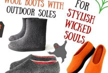 Blog Posts - New Models of Wool Boots & Felt Shoes / New Models of Wool Boots & Felt Shoes on FELT FORMA blog.