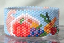 Beaded Spool and Tea Light Cover Patterns
