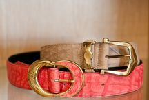 Accessories /   We may be known for our beautiful bags but did you know that we make everything from belts to mobile phone cases? Have a quick look at our accessories.