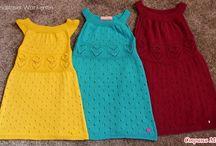 Háčkované a pletené pro děti