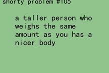 short girl problems -.-