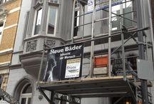 Badumbau in einem Jugenstilhaus in Aachen / Für enge Flure haben wir auch eine Lösung