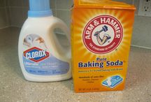 Cleaning supplies / by Annette Hagan