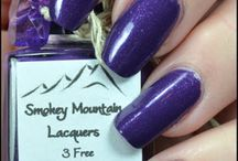 Smokey Mountain Lacquers / http://www.etsy.com/shop/SmokeyMtnLacquers https://www.facebook.com/pages/Smokey-Mtn-Lacquers