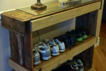 Make it with pallets! / Items made from old pallets. / by Donna Rexroth