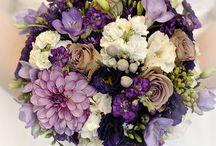 ślub fiolet