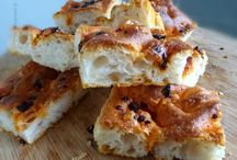 Sourdough Focaccia  / All kinds of amazing focaccia created with a sourdough starter!