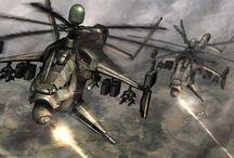 Vehicles - Aerial - chopper, copter, helicopter