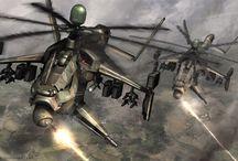 Vehicles - Aerial - chopper, heli 1