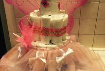 Diaper caker