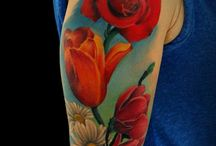 *FLOWERS TATTOO* / Flowers, flowers and more flowers. I love ink.