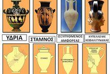 Αρχαία αγγεία-Μουσειακή αγωγή